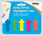 Sticky Tabs Arrow Shape Tiger