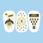 Eraser Milan 4727 Atomic Insects