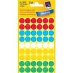Avery Dot Labels 12mm Multi