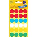 Avery Dot Labels 18mm Multi