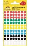 Avery Dot Labels 8mm Multi