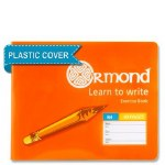 Copy B4 Learn to Write 40 Page Ormond with Plastic Cover