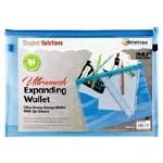 Mesh Folder B4+ Ultramesh Expanding Wallet Printer Blue Student Solutions