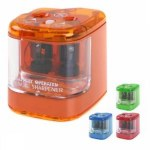 Pencil Sharpener Double Hole Battery Operated