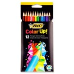 BIC Colour Up Triangular Colouring Pencils 12 Pack
