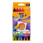 BIC Kids Oil Pastel Crayons 12 Pack