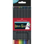 Colouring Pencils Black Edition 12 Pack Faber Castell