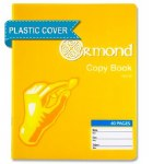 Copy Blank Page 40 Page Ormond with Plastic Cover