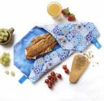 Boc'N'Roll Sandwich Wrap Patchwork Blue