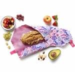 Boc'N'Roll Sandwich Wrap Patchwork Purple
