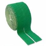 Bordette Scalloped Edge 15M Emerald Green