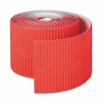 Bordette Scalloped Edge 15 M Red