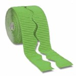 Bordette Scalloped Edge 15 M Nile Green