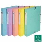 Box File A4 40mm Pastel