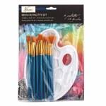 Fine Art Brush & Palette Set