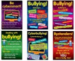 Bullying in a Cyber World Set of 6 Posters Lower Classes 1st to 3rd Class Prim Ed