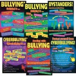 Bullying in a Cyber World Set of 6 Posters Upper Classes 4th to 6th Class Prim Ed