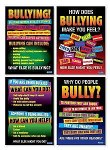 Bullying Stimulus Poster Set of 4 Posters 2nd to 6th Class Prim Ed