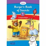 Burgers Book of Sounds 1 Pack Cursive Looped style plus take home decodable Books CJ Fallon
