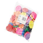 Colossal Plastic Button 60 Pack