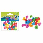 Craft With Fun Buttons Hearts 50 Pieces