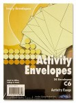 Envelopes Ivory Size C6 Pack 25