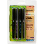 Callicreative Calligraphy Markers 4 Colour Broad