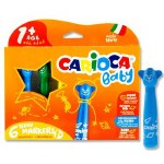 Carionca Bbay 6 Super Safe teddy Markers Age 1+