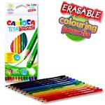 Carioca Erasable Colouring Pencils 12 Pack