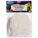 Decorate Your Own Masks - Carnival Masks