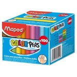 Maped Box 100 Chalk Coloured