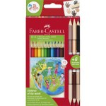 Colouring Pencils Children of The World 12 + 3  Pack