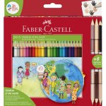 Colouring Pencils Children of The World 24 + 3  Pack