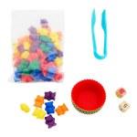 Clever Kidz Sorting Game Rainbow Bears