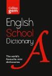 Collins Gem English School Dictionary
