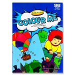 Colouring Book A4 96 Page World of Colour