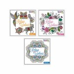 Colour Therapy Adult Colouring Book