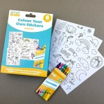 Craft Label Kids Colour Your Own Stickers - Fantasy