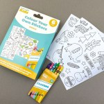 Craft Label Kids Colour Your Own Stickers - Jungle
