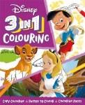 Colouring Book 3 In 1 Disney