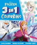 Colouring Book 3 In 1 Frozen