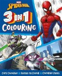 Colouring Book 3 In 1 Spiderman