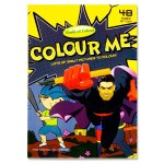 Colouring Book A4 48 Page Boys World of Colour