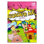 Colouring Book A4 48 Page Girls World of Colour