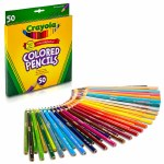 Colouring Pencils 50 Pack Crayola