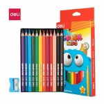 Deli Jumbo Colouring Pencils 12 Pack