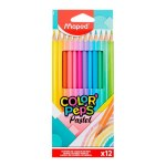 Maped Color'peps Colouring Pencils 12 Pack Pastel