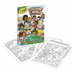 Colouring Book Colours of The World Crayola