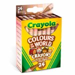 Crayons Colours Of The World 24 Pack Crayola