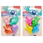 Emotionery Erasers Cool Hands 4 Pack